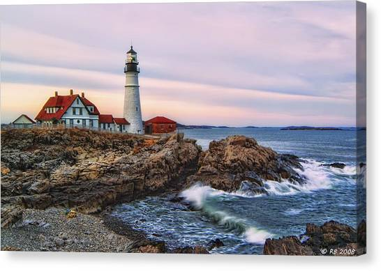 The Evening Lo How Bright Canvas Print