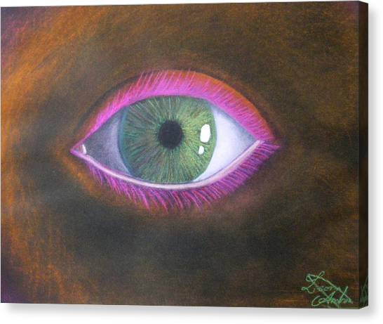 The Eye Of The One Canvas Print