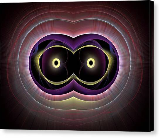 Bachelorette Canvas Print - The-eyes-have-it-1bb by Bill Campitelle