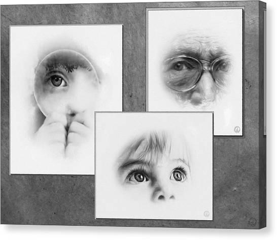 The Eyes Have It Canvas Print by Gun Legler