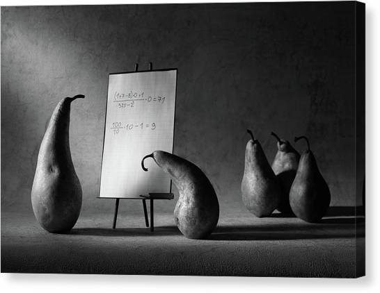 Detention Canvas Print - The F-mark by Victoria Ivanova