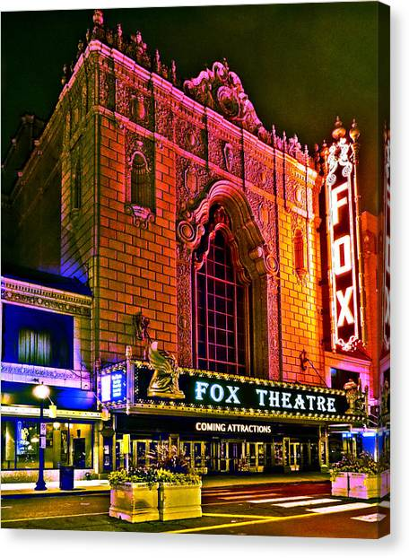 The Fabulous Fox In St. Louis Canvas Print