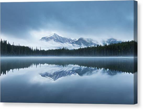 Snow Bank Canvas Print - The Fairyland by Annie Fu