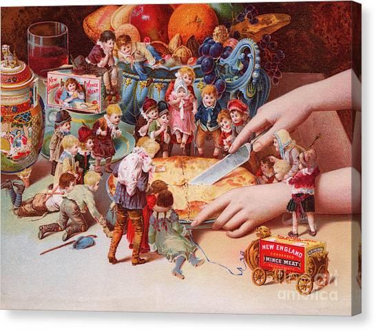 Sprite Canvas Print - The Fairys Pie by American School