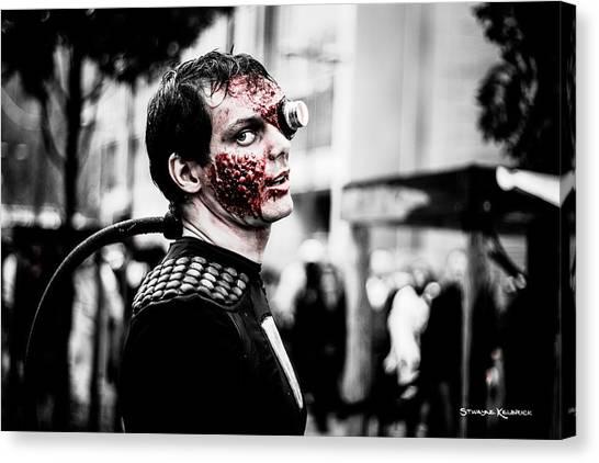 Canvas Print - The Fake Zombie Robot by Stwayne Keubrick