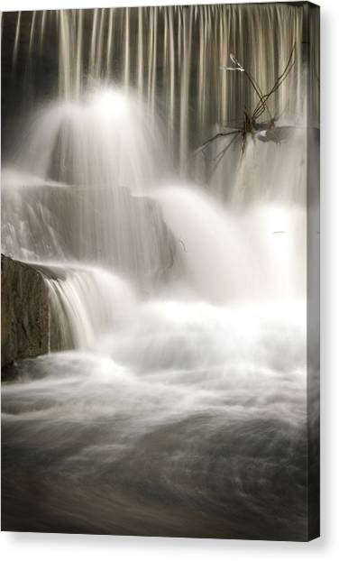 The Falls 2 Canvas Print by Cindy Rubin