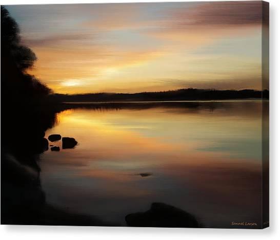The Final Light Canvas Print