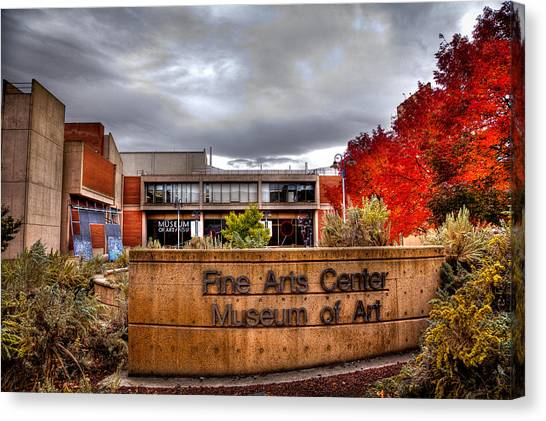 Washington State University Canvas Print - The Fine Arts Center And Museum Of Art At Washington State by David Patterson
