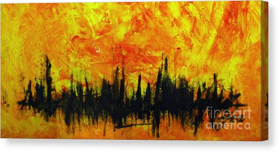 The Fire Within Canvas Print by Raul Morales
