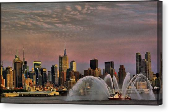 The Fireboat Canvas Print