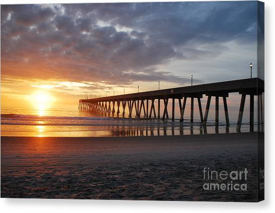 The First Sunrise Canvas Print