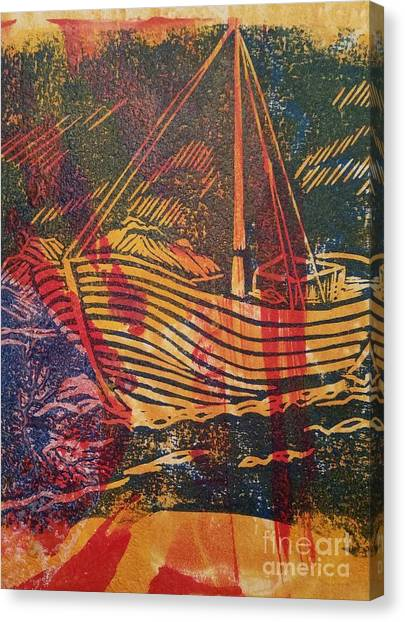 The Fishing Boat Canvas Print