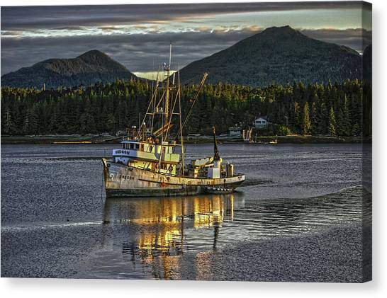 The Fishing Boat8 Canvas Print