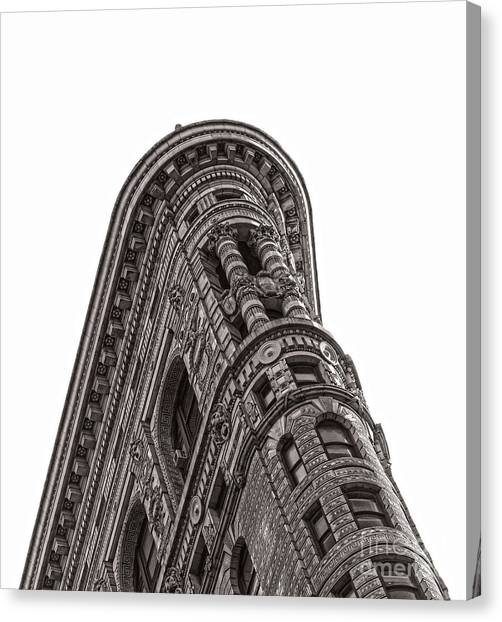 The Flatiron Canvas Print