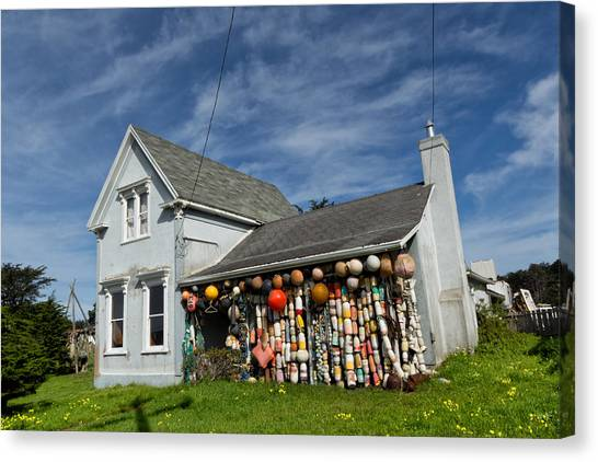 Crabbing Canvas Print - The Float House by Kathleen Bishop
