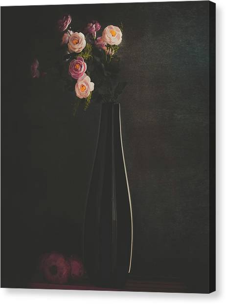The Flower Canvas Print by Farid Kazamil