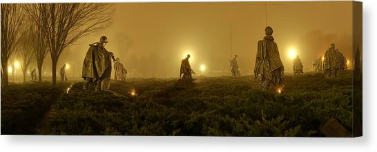 The Fog Of War #1 Canvas Print