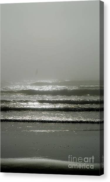 The Fog Canvas Print by Sheldon Blackwell