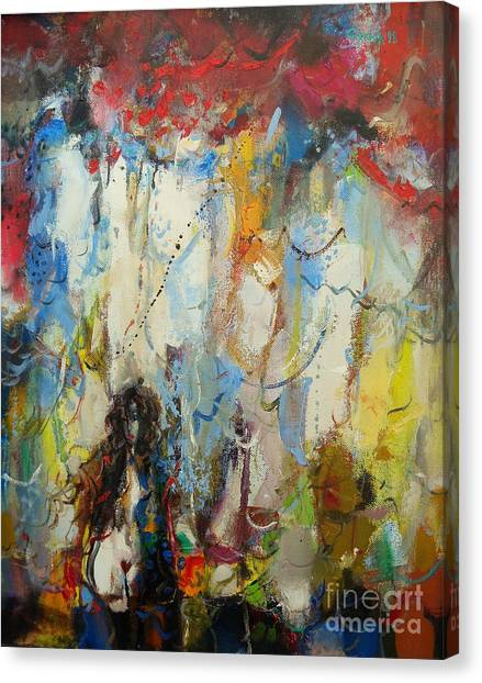 Canvas Print - The Fornicatress  by Grigor Malinov