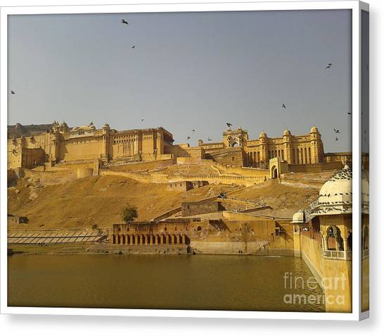 The Fort  Canvas Print by Ankit Garg