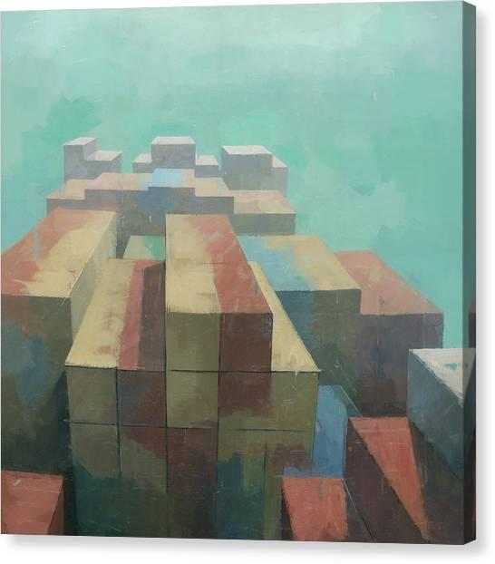 The Four Corners Canvas Print