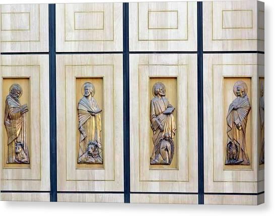 Saint Luke The Evangelist Canvas Print - The Four Evangelists by Ken Welsh
