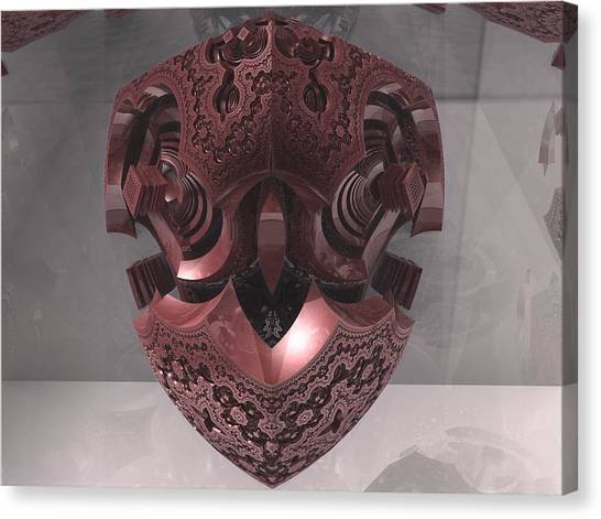 Fractal Canvas Print - The Fractal Heart by Jacob Bettany