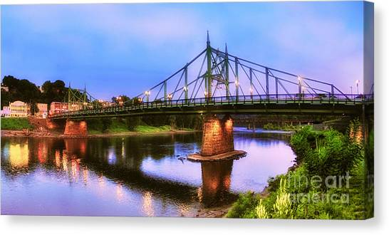 The Free Bridge Canvas Print