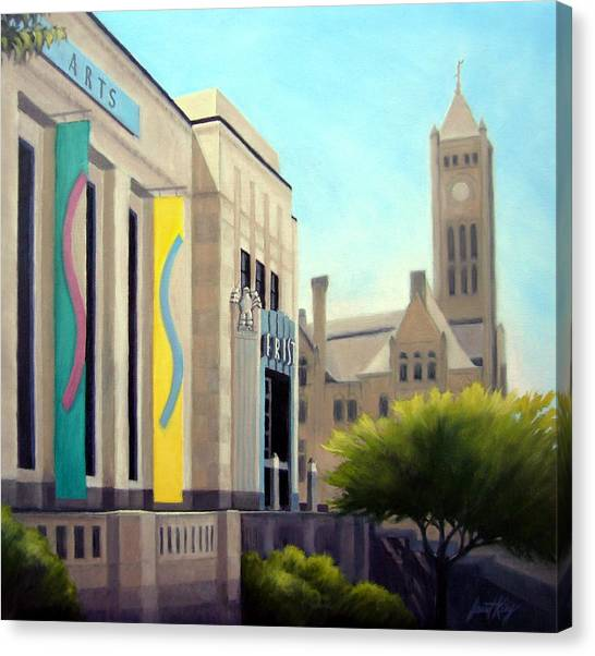The Frist Center Canvas Print