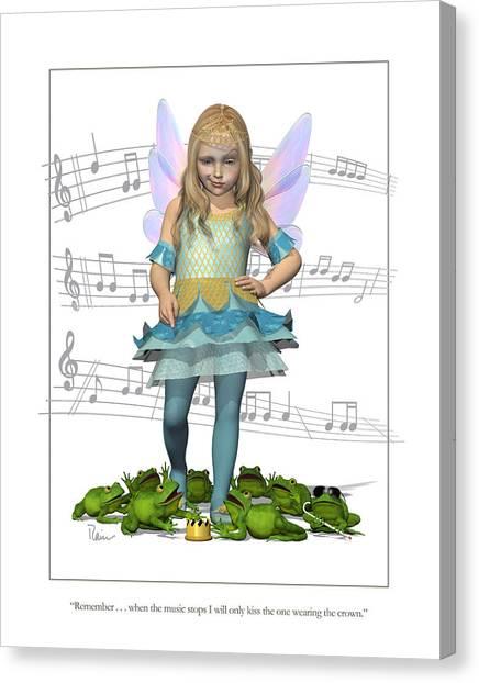 The Frog Princess Canvas Print