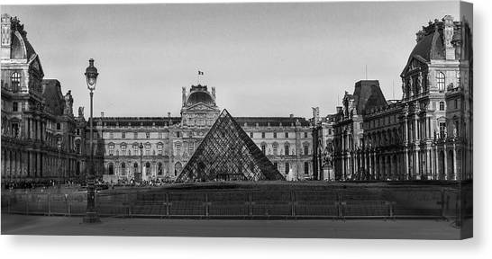 The Full Louvre Denise Dube Canvas Print