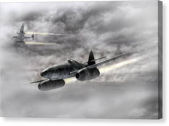 Luftwaffe Canvas Print - The Future Is Now by Peter Chilelli