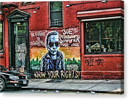 The Future Is Unwritten Canvas Print