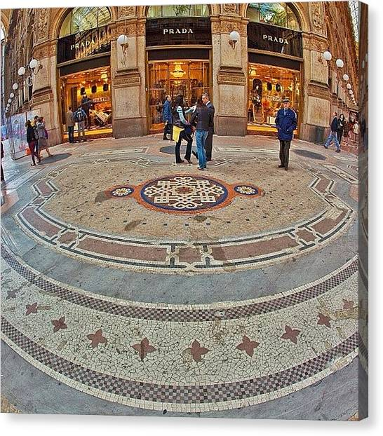 Trip Canvas Print - The Galleria Is Often Nicknamed Il by Tommy Tjahjono