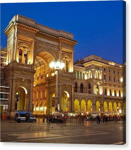 Trip Canvas Print - The Galleria Vittorio Emanuele II Is by Tommy Tjahjono