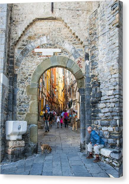The Gate To Old Town Canvas Print