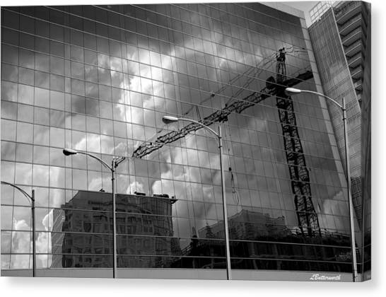 The Gathering Storm Canvas Print by Larry Butterworth