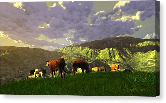 The Gentle Breed Canvas Print