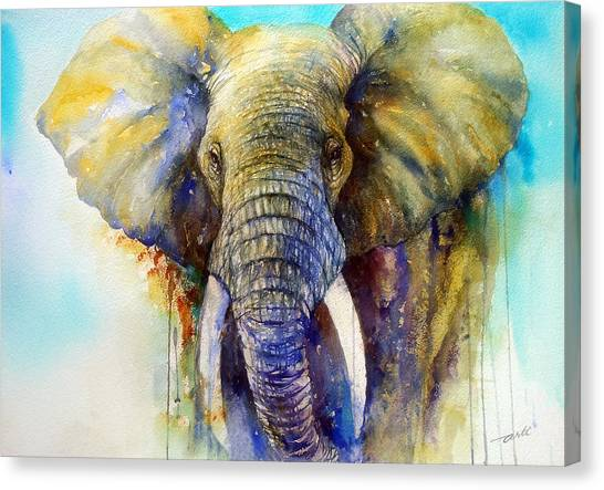The Gentle Giant Canvas Print