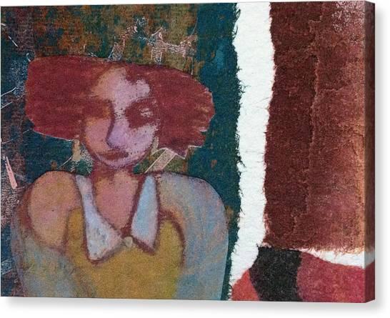 The Girl Waits Canvas Print