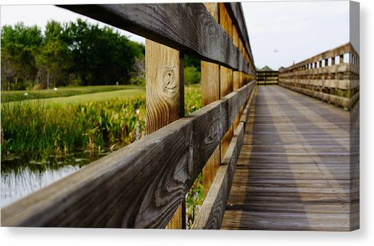 The Glades Canvas Print by Kirk  Montgomery