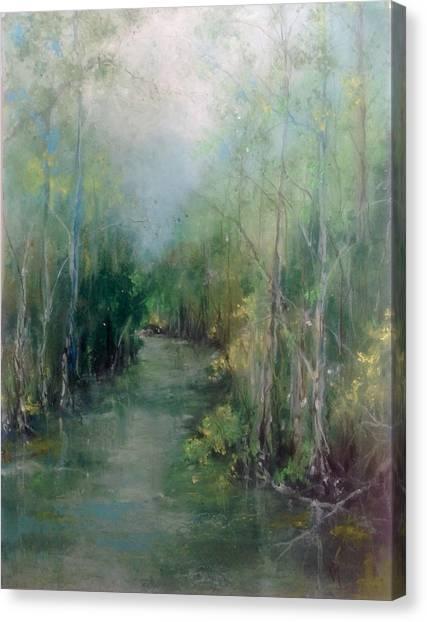 River Runs Deep Series #3 Canvas Print