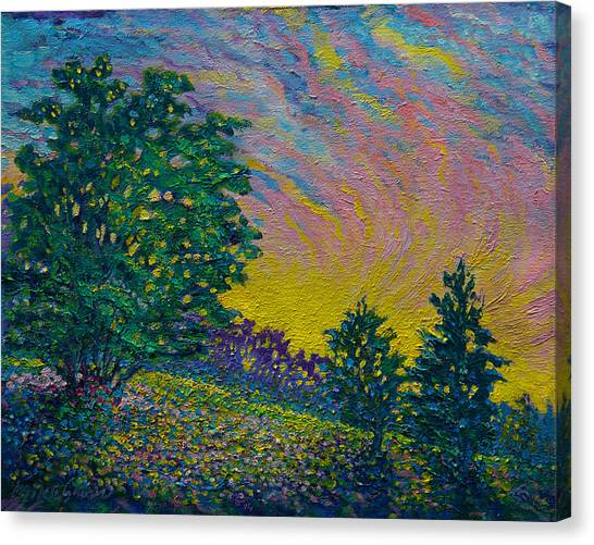 The Gleaming Canvas Print