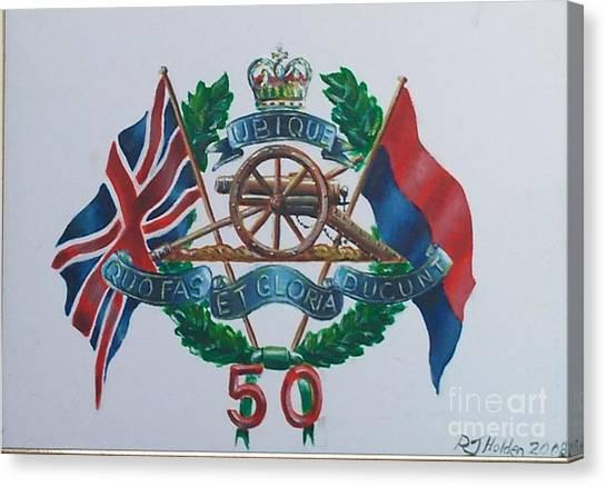 The Glorious 50 Canvas Print by Richard John Holden RA