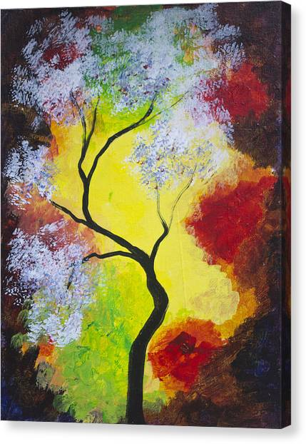 The Glory Of Fall Canvas Print