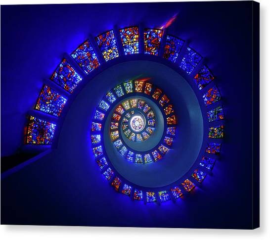 Dallas Canvas Print - The Glory Window by Michael Zheng
