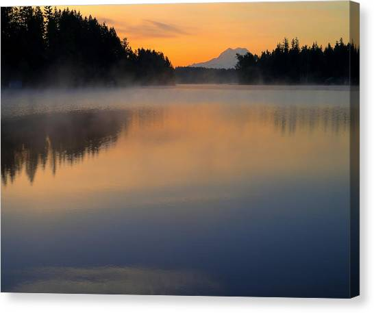 The Glow At Dawn Canvas Print