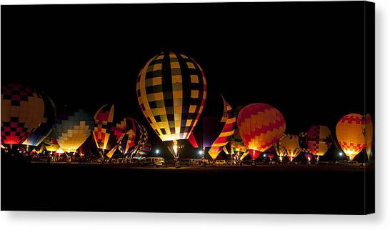 The Glow Canvas Print by Danny Pickens