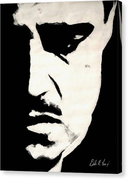 Scarface Canvas Print - The Godfather by Dale Loos Jr