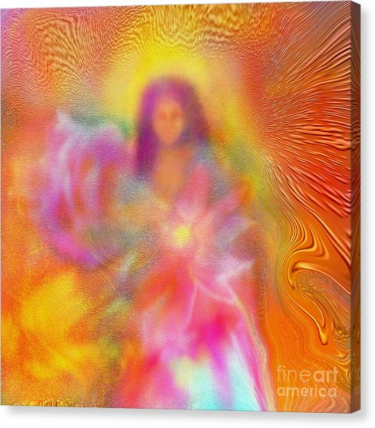 The Golden Deva Canvas Print